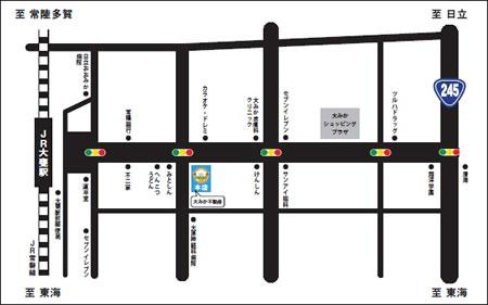 本店の地図